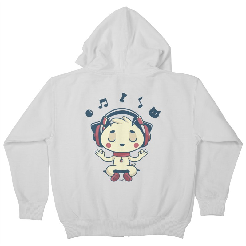 MUSIC IS FOR EVERYBODY! Kids Zip-Up Hoody by Alpacaramba!