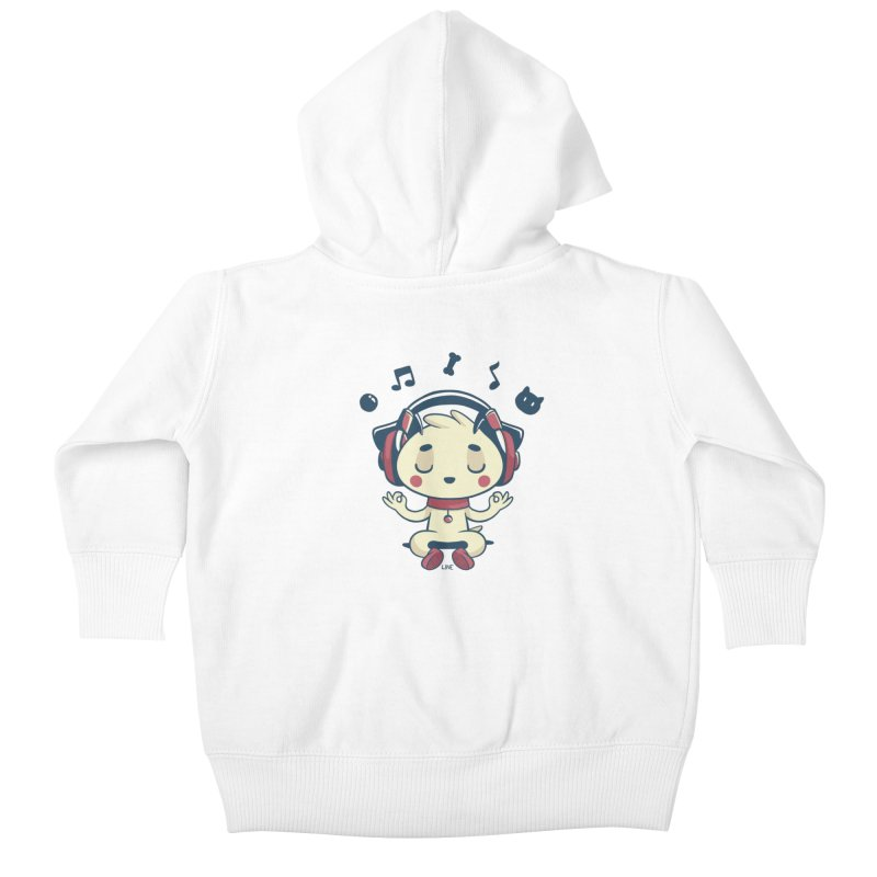 MUSIC IS FOR EVERYBODY! Kids Baby Zip-Up Hoody by Alpacaramba!