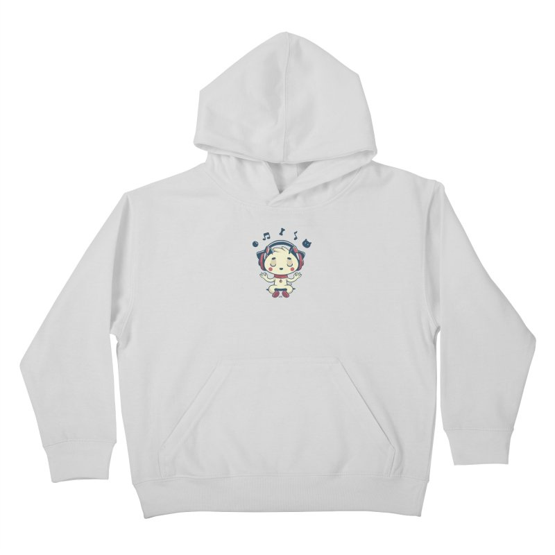 MUSIC IS FOR EVERYBODY! Kids Pullover Hoody by Alpacaramba!