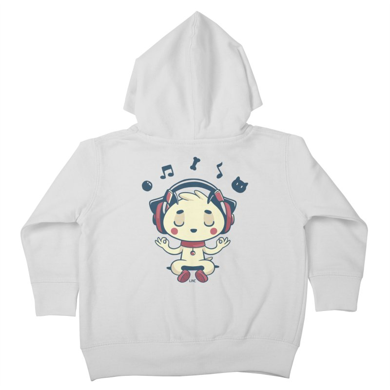MUSIC IS FOR EVERYBODY! Kids Toddler Zip-Up Hoody by Alpacaramba!