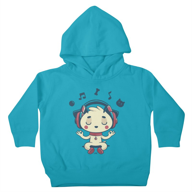 MUSIC IS FOR EVERYBODY! Kids Toddler Pullover Hoody by Alpacaramba!