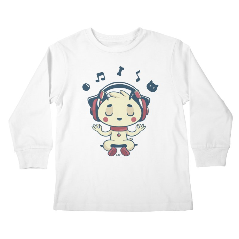 MUSIC IS FOR EVERYBODY! Kids Longsleeve T-Shirt by Alpacaramba!