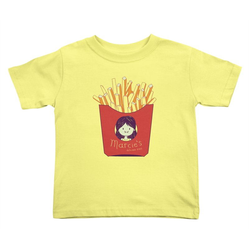 MARCIE'S FRIES Kids Toddler T-Shirt by Alpacaramba!