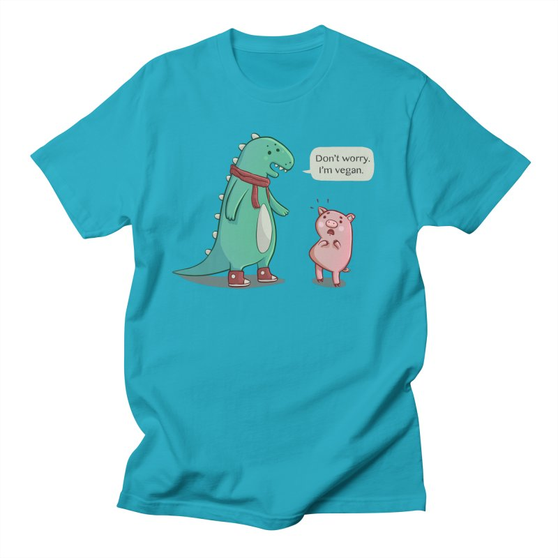 BACON IS TOO MAINSTREAM Men's Regular T-Shirt by Alpacaramba!