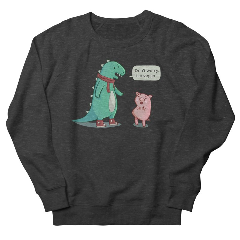 BACON IS TOO MAINSTREAM Women's French Terry Sweatshirt by Alpacaramba!