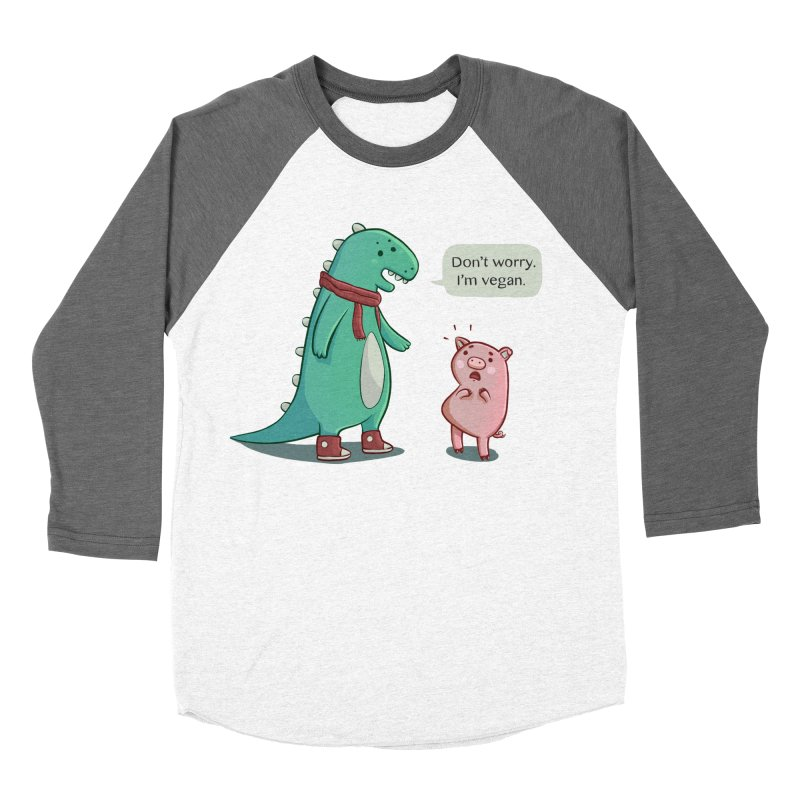 BACON IS TOO MAINSTREAM Women's Baseball Triblend Longsleeve T-Shirt by Alpacaramba!