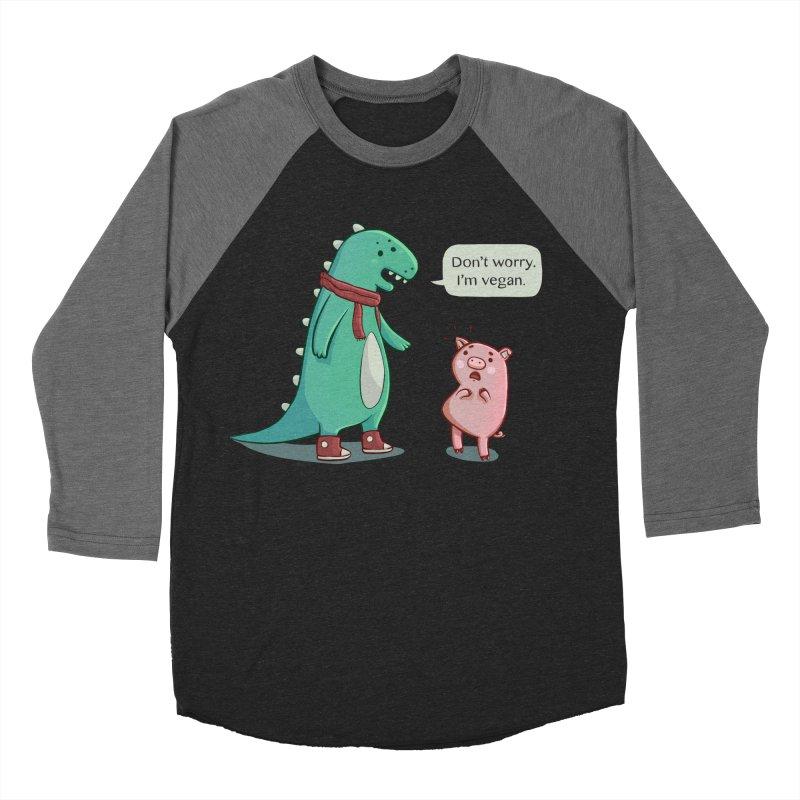 BACON IS TOO MAINSTREAM Men's Baseball Triblend T-Shirt by Alpacaramba!