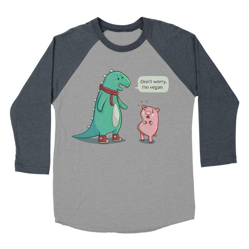 BACON IS TOO MAINSTREAM Men's Baseball Triblend Longsleeve T-Shirt by Alpacaramba!