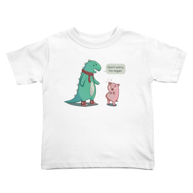 BACON IS TOO MAINSTREAM Kids Toddler T-Shirt by Alpacaramba!