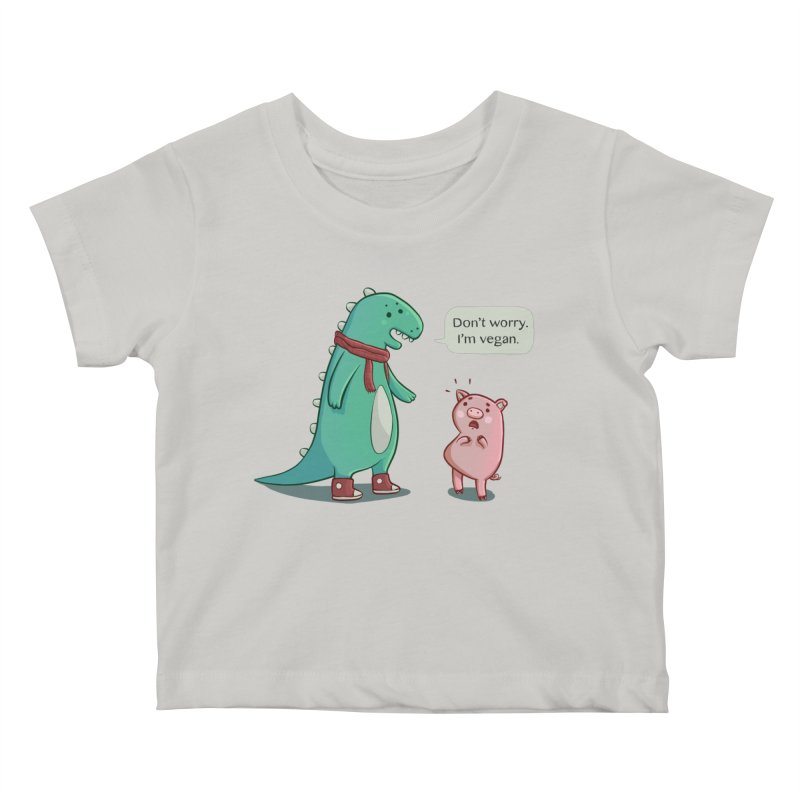 BACON IS TOO MAINSTREAM Kids Baby T-Shirt by Alpacaramba!