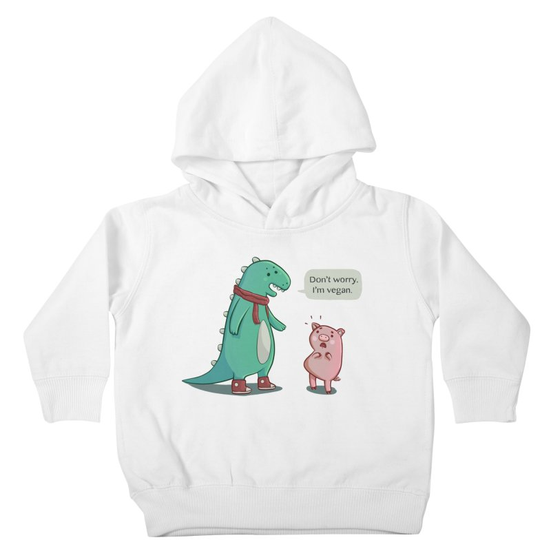 BACON IS TOO MAINSTREAM Kids Toddler Pullover Hoody by Alpacaramba!