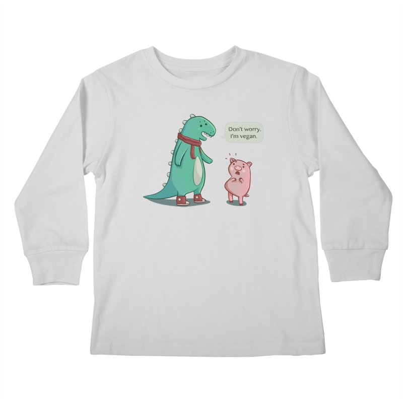 BACON IS TOO MAINSTREAM Kids Longsleeve T-Shirt by Alpacaramba!