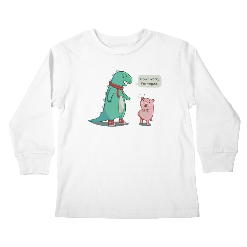 BACON IS TOO MAINSTREAM Kids Longsleeve T-Shirt by Alpacaramba!