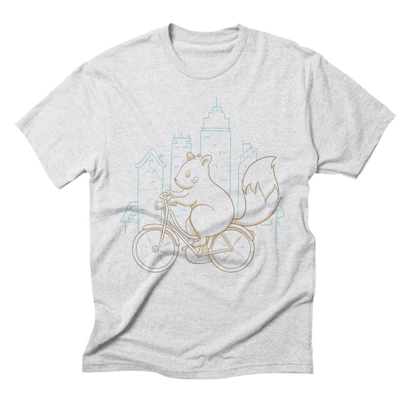 SERENE SQUIRREL Men's Triblend T-Shirt by Alpacaramba!