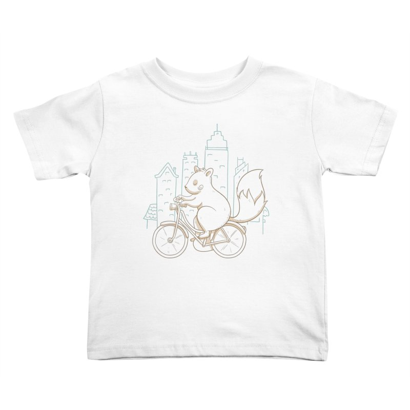 SERENE SQUIRREL Kids Toddler T-Shirt by Alpacaramba!