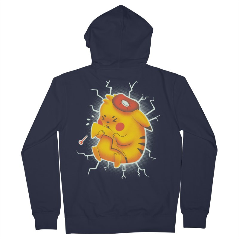 PIKACHOO!!! Women's French Terry Zip-Up Hoody by Alpacaramba!