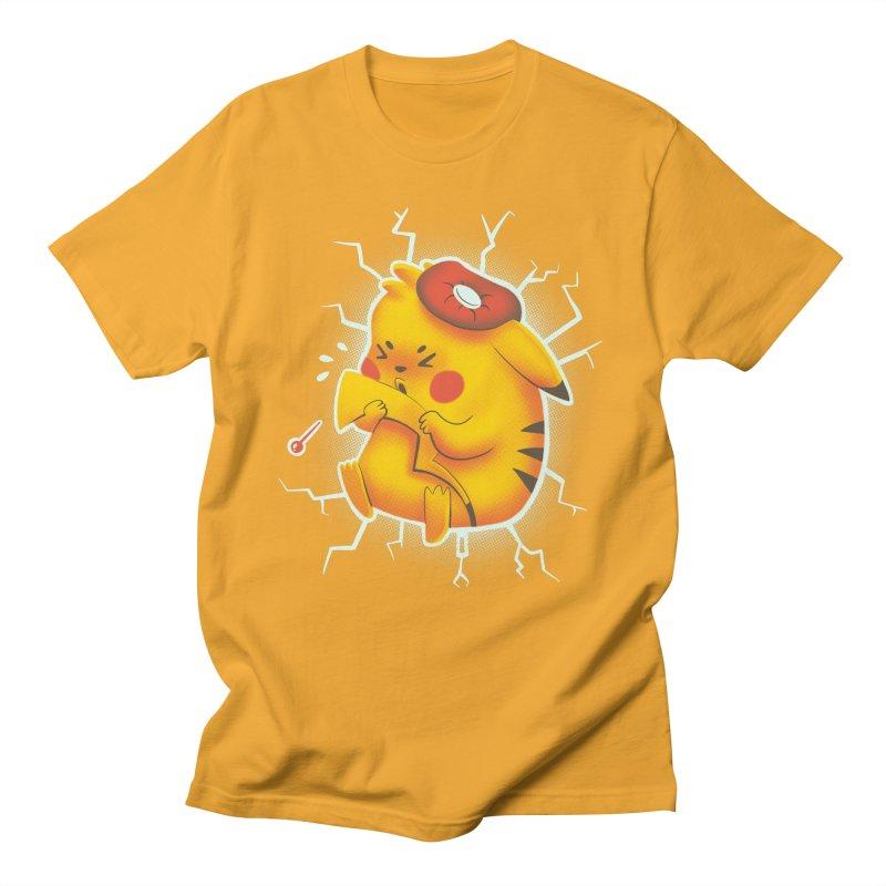 PIKACHOO!!! Men's Regular T-Shirt by Alpacaramba!