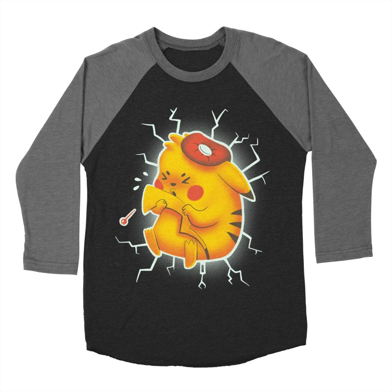 PIKACHOO!!! Men's Baseball Triblend T-Shirt by Alpacaramba!