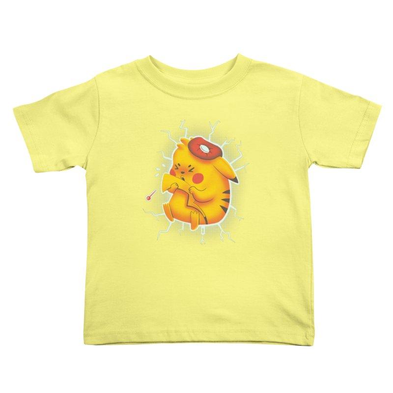 PIKACHOO!!! Kids Toddler T-Shirt by Alpacaramba!