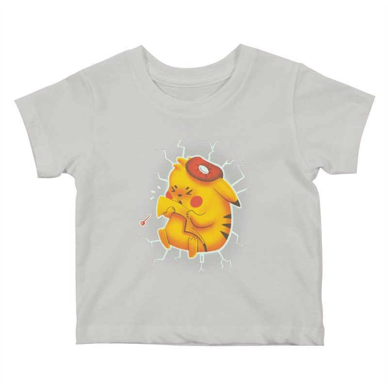 PIKACHOO!!! Kids Baby T-Shirt by Alpacaramba!