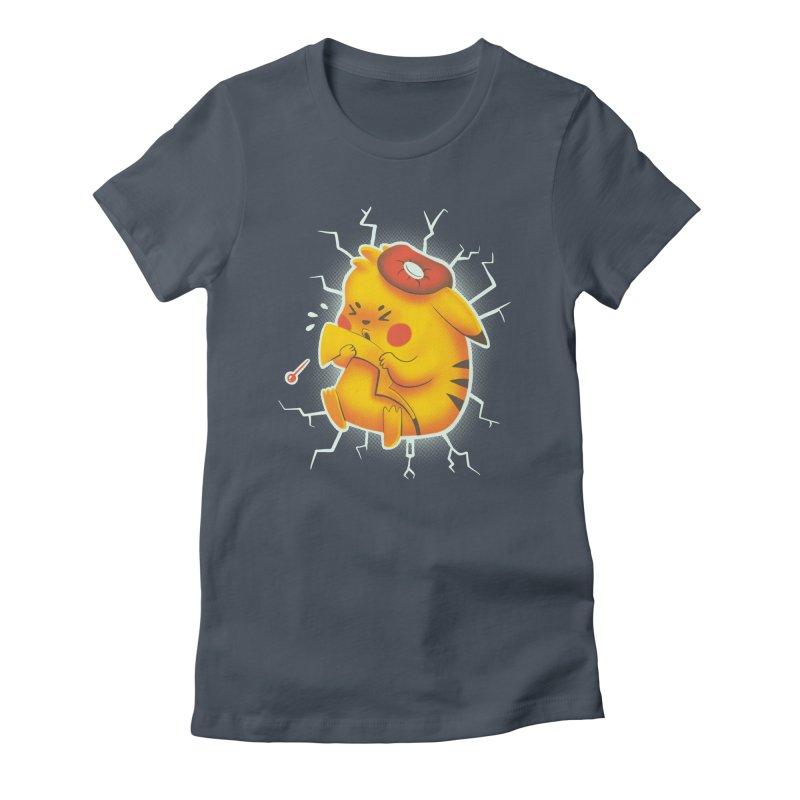 PIKACHOO!!! Women's T-Shirt by Alpacaramba!