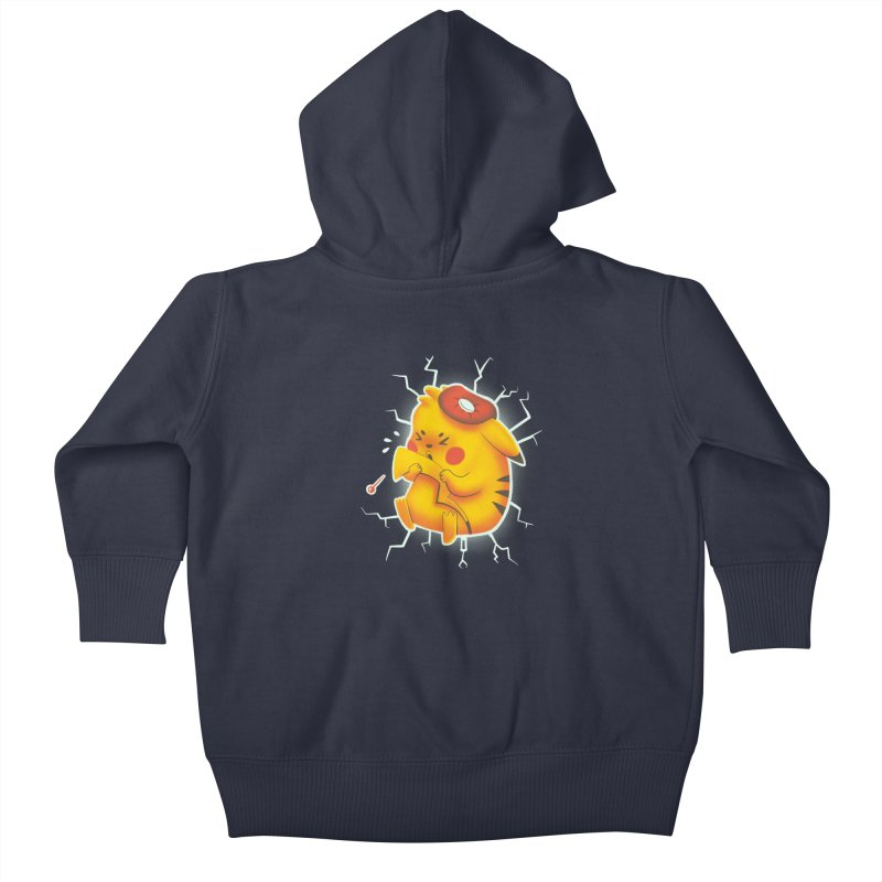 PIKACHOO!!! Kids Baby Zip-Up Hoody by Alpacaramba!