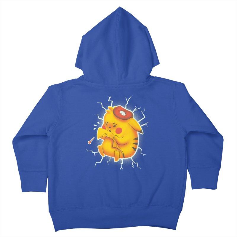 PIKACHOO!!! Kids Toddler Zip-Up Hoody by Alpacaramba!