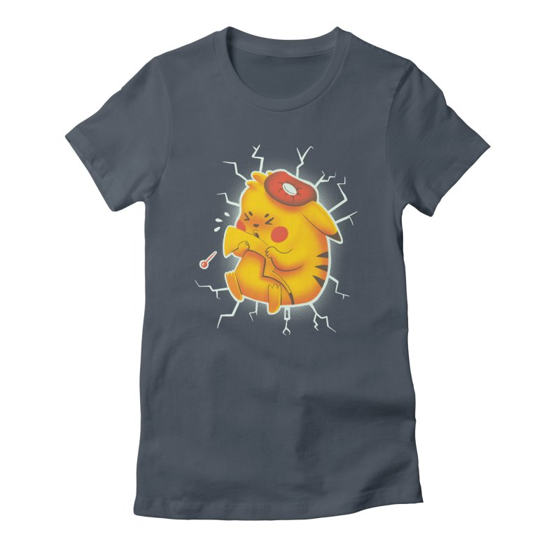 PIKACHOO!!! Women's Fitted T-Shirt by Alpacaramba!