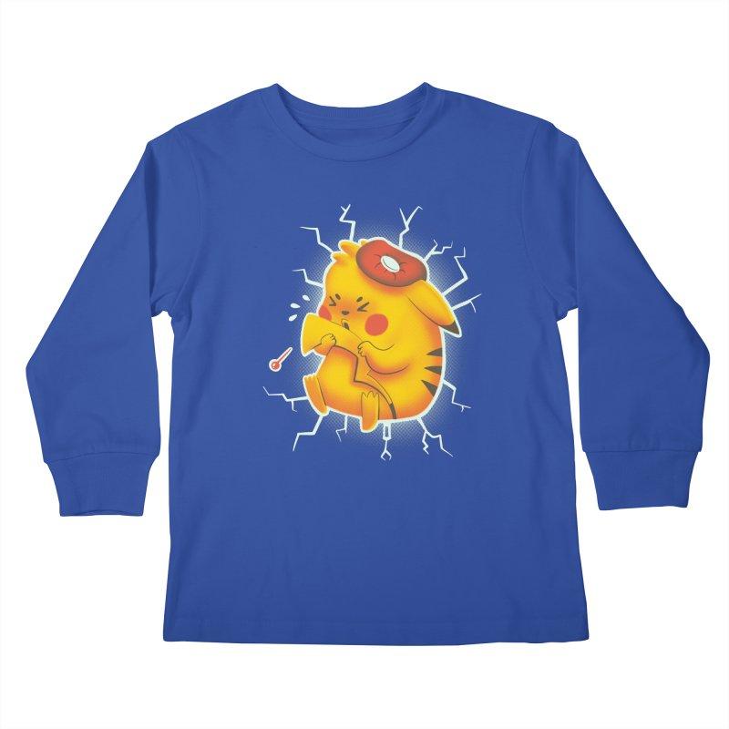 PIKACHOO!!! Kids Longsleeve T-Shirt by Alpacaramba!