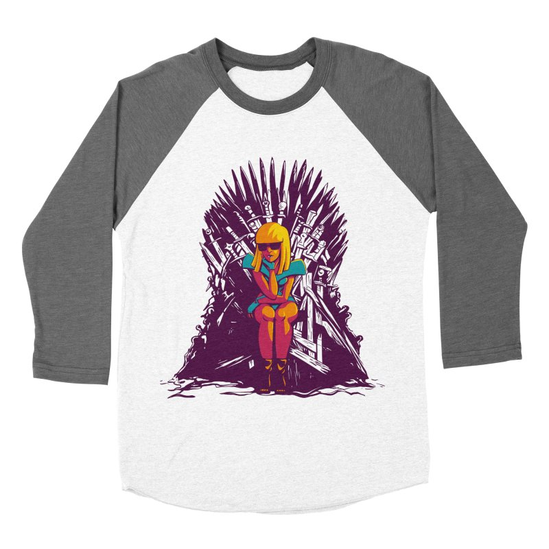 QUEEN OF POP Women's Baseball Triblend Longsleeve T-Shirt by Alpacaramba!