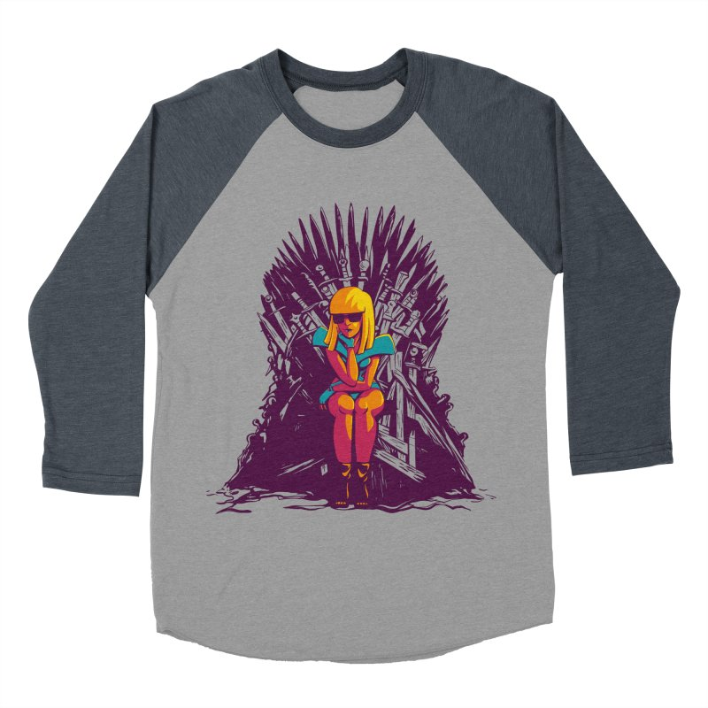 QUEEN OF POP Men's Baseball Triblend Longsleeve T-Shirt by Alpacaramba!