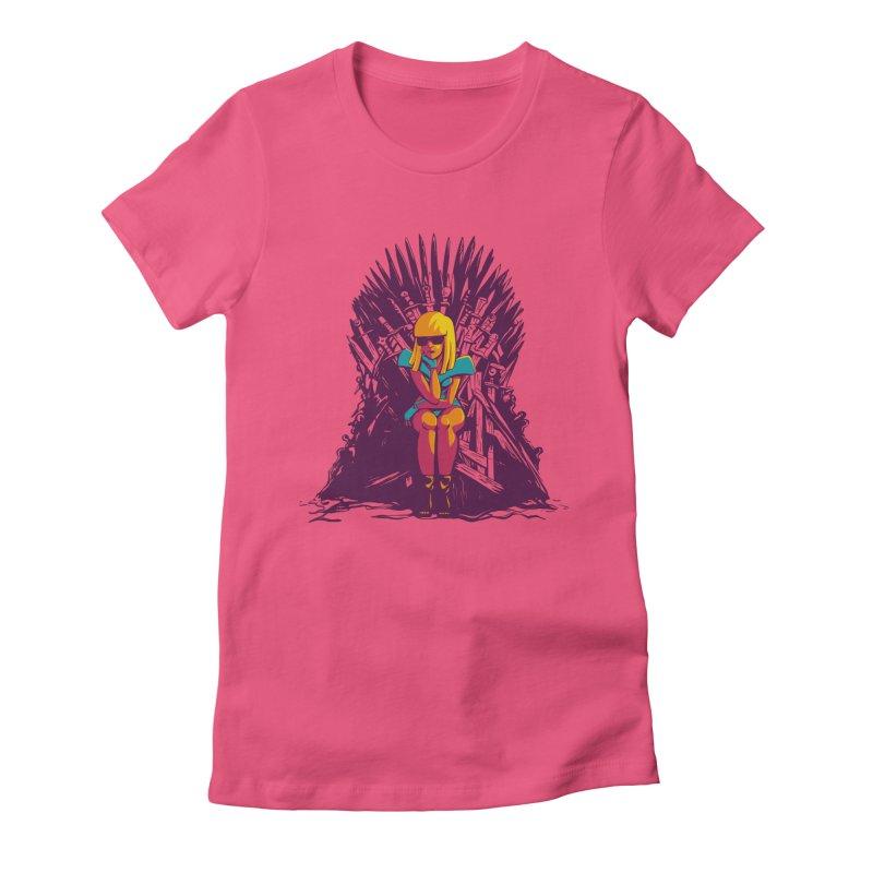 QUEEN OF POP Women's T-Shirt by Alpacaramba!