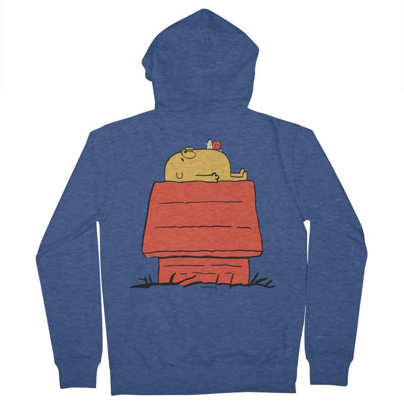 SNOOPY TIME! Women's French Terry Zip-Up Hoody by Alpacaramba!