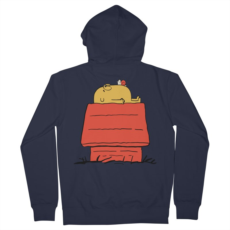 SNOOPY TIME! Men's Zip-Up Hoody by Alpacaramba!