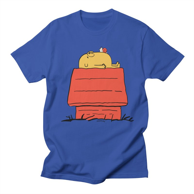 SNOOPY TIME! Men's T-Shirt by Alpacaramba!