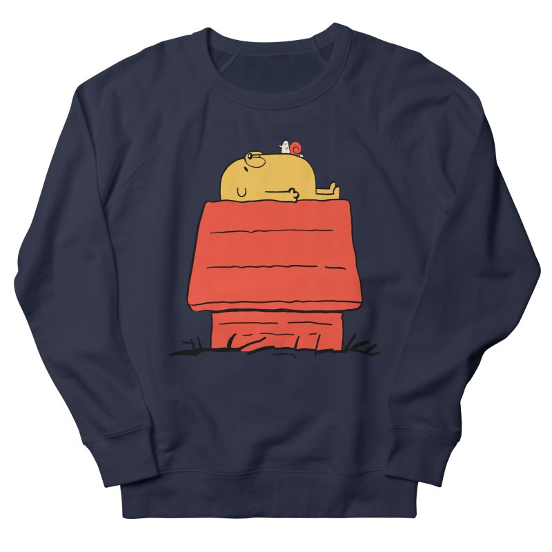 SNOOPY TIME! Women's French Terry Sweatshirt by Alpacaramba!