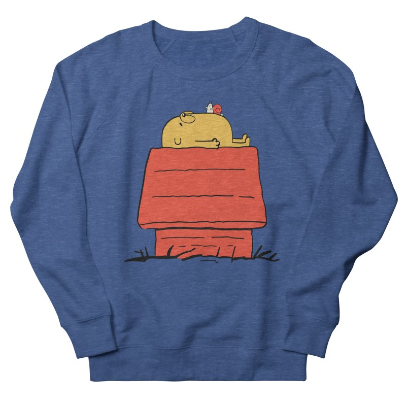 SNOOPY TIME! Men's French Terry Sweatshirt by Alpacaramba!