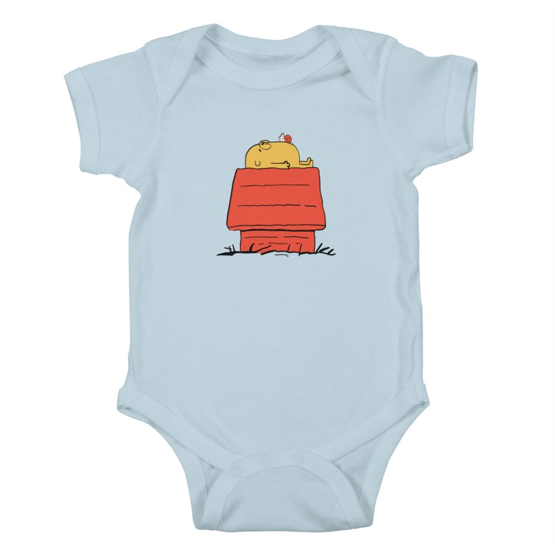 SNOOPY TIME! Kids Baby Bodysuit by Alpacaramba!