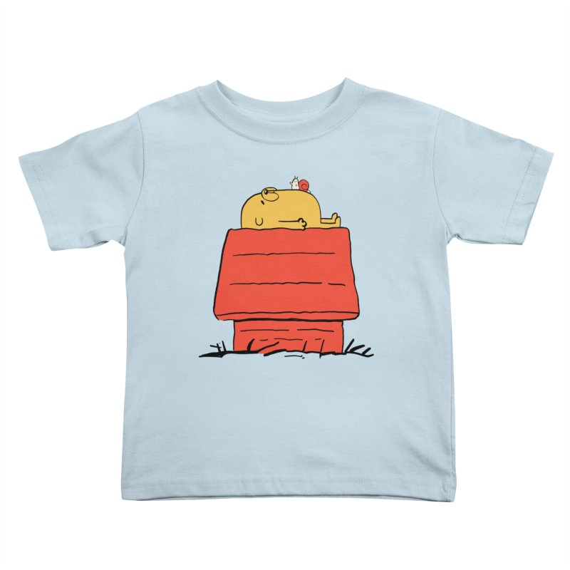 SNOOPY TIME! Kids Toddler T-Shirt by Alpacaramba!