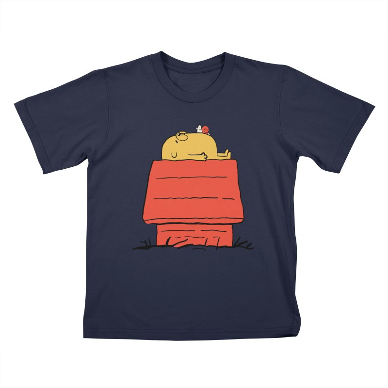 SNOOPY TIME! Kids T-Shirt by Alpacaramba!