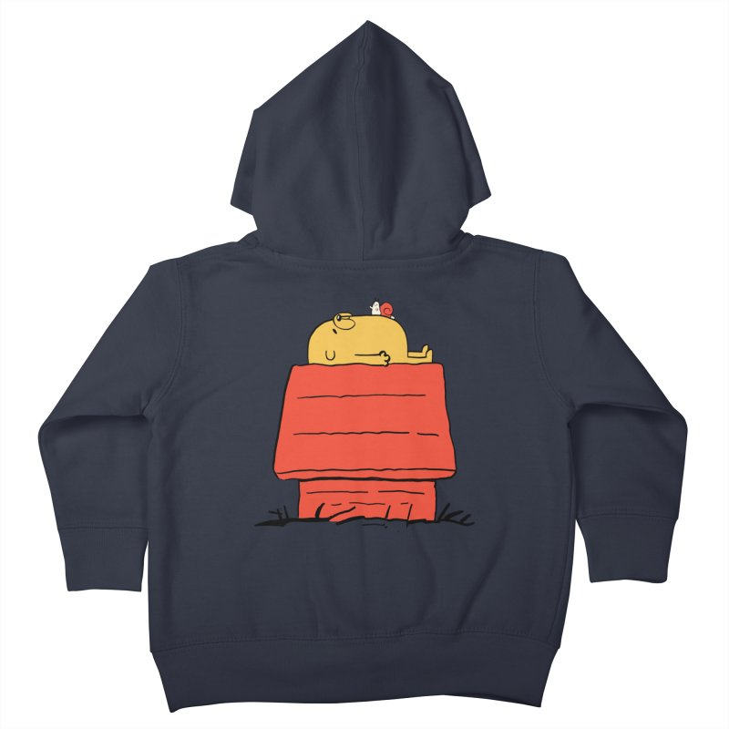 SNOOPY TIME! Kids Toddler Zip-Up Hoody by Alpacaramba!
