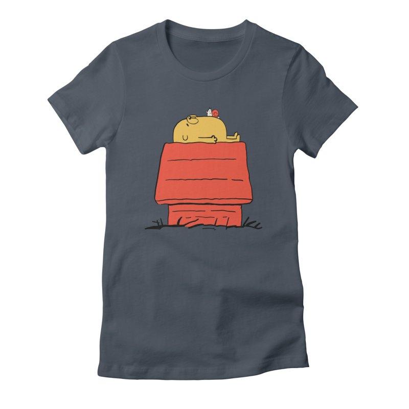 SNOOPY TIME! Women's T-Shirt by Alpacaramba!