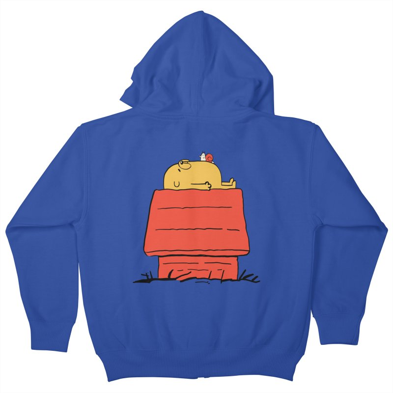 SNOOPY TIME! Kids Zip-Up Hoody by Alpacaramba!