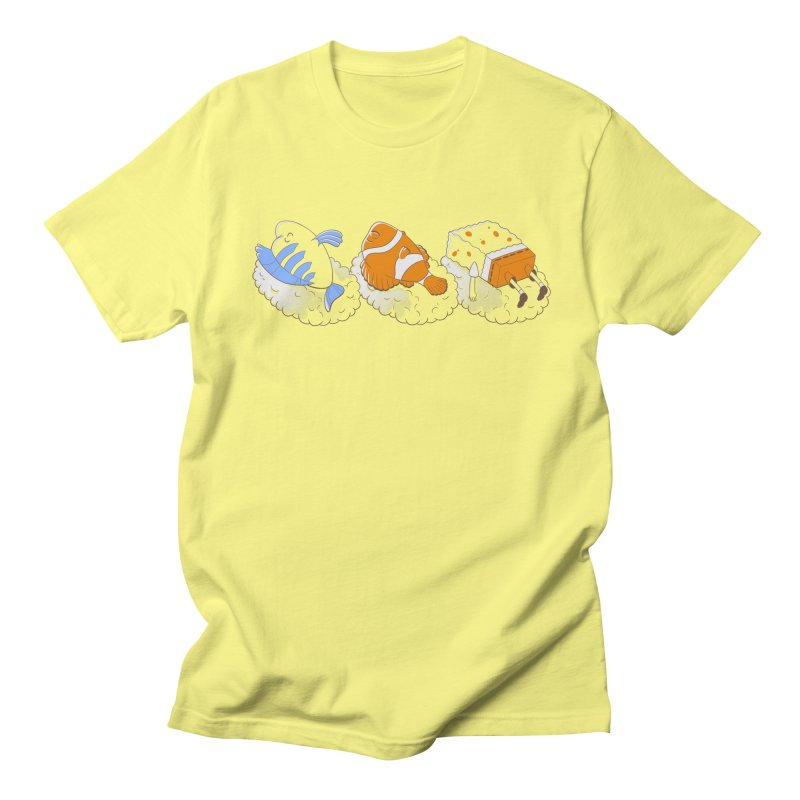 SUSHI Men's Regular T-Shirt by Alpacaramba!