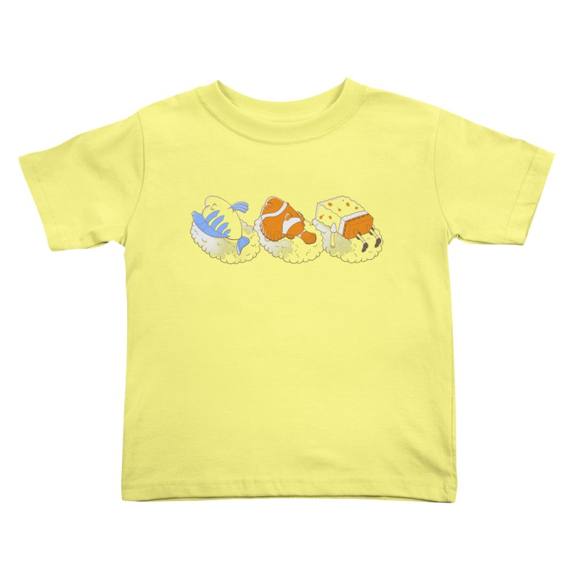 SUSHI Kids Toddler T-Shirt by Alpacaramba!