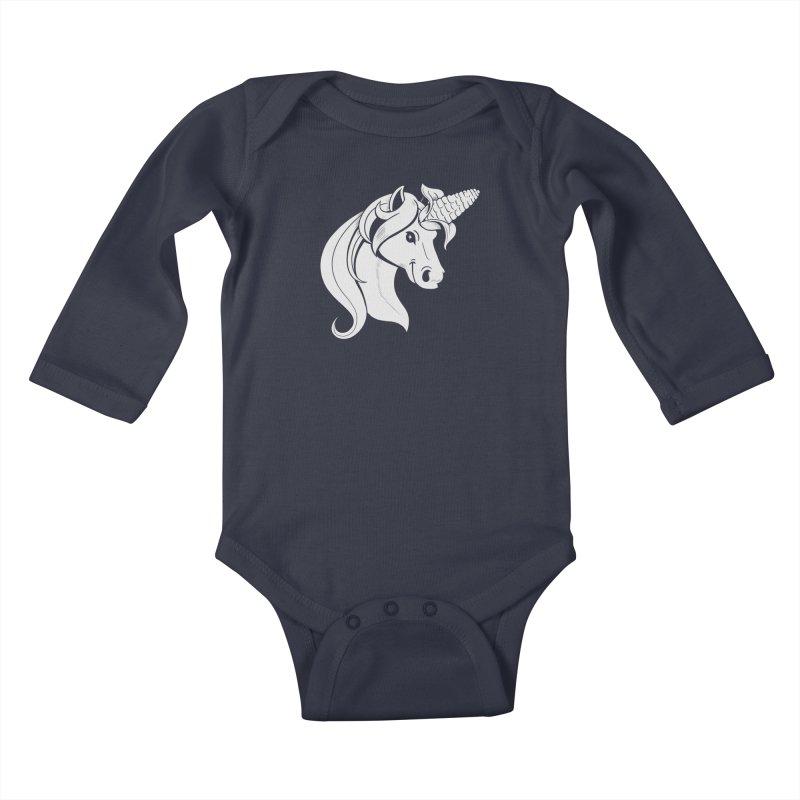 UNICORN Kids Baby Longsleeve Bodysuit by Alpacaramba!