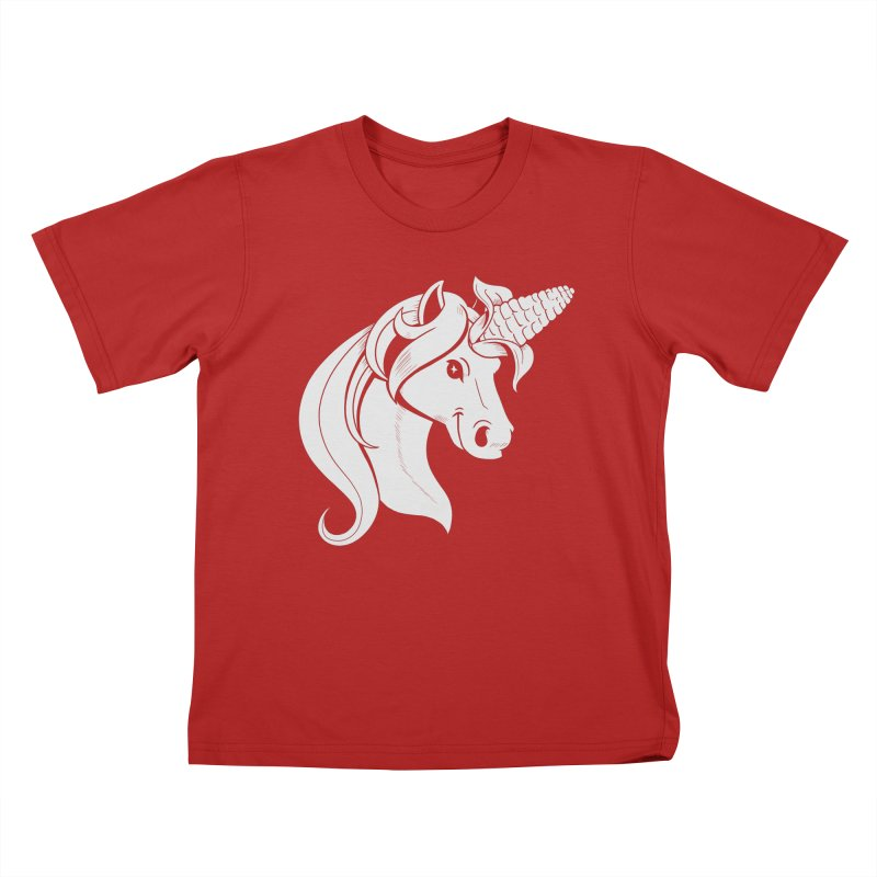 UNICORN Kids T-shirt by Alpacaramba!