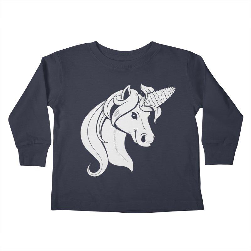 UNICORN Kids Toddler Longsleeve T-Shirt by Alpacaramba!