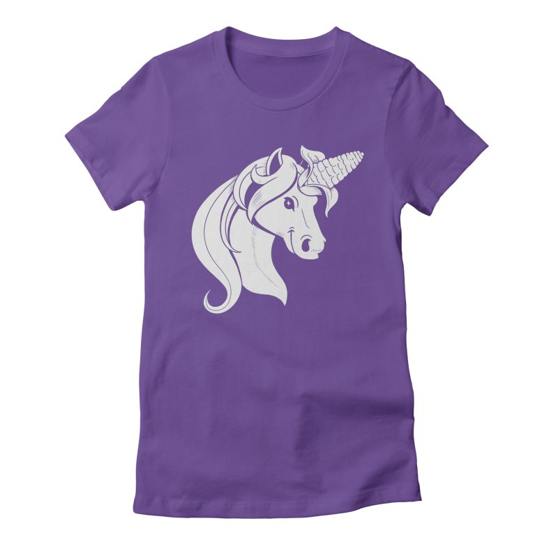 UNICORN Women's Fitted T-Shirt by Alpacaramba!
