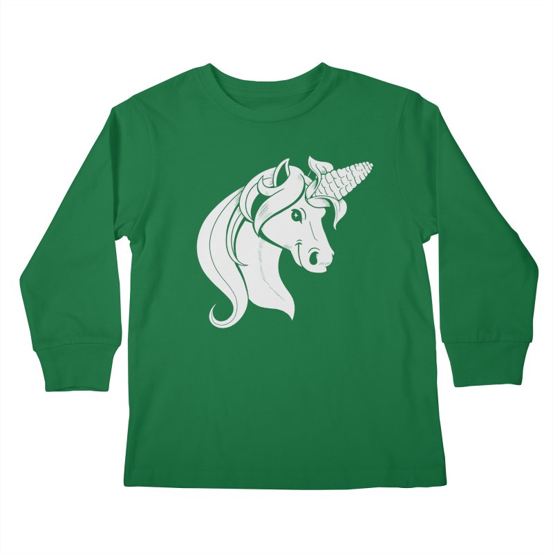 UNICORN Kids Longsleeve T-Shirt by Alpacaramba!